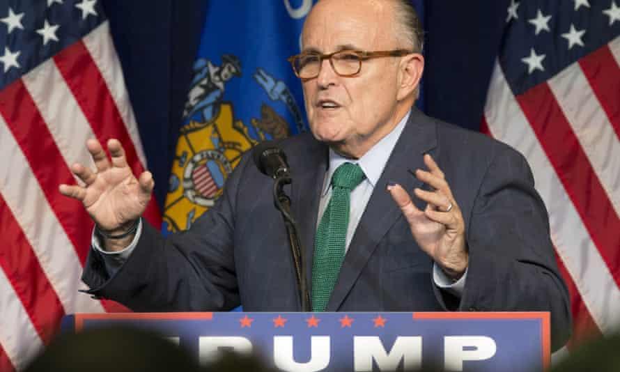 Rudy Giuliani, the former New York City mayor