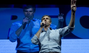 Going by the polls Beto O'Rourke looks like a contender who is in it to win.