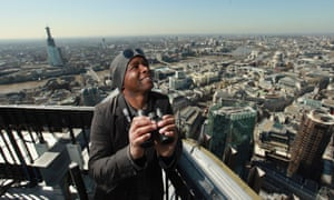 David Lindo, the 'urban birder'.