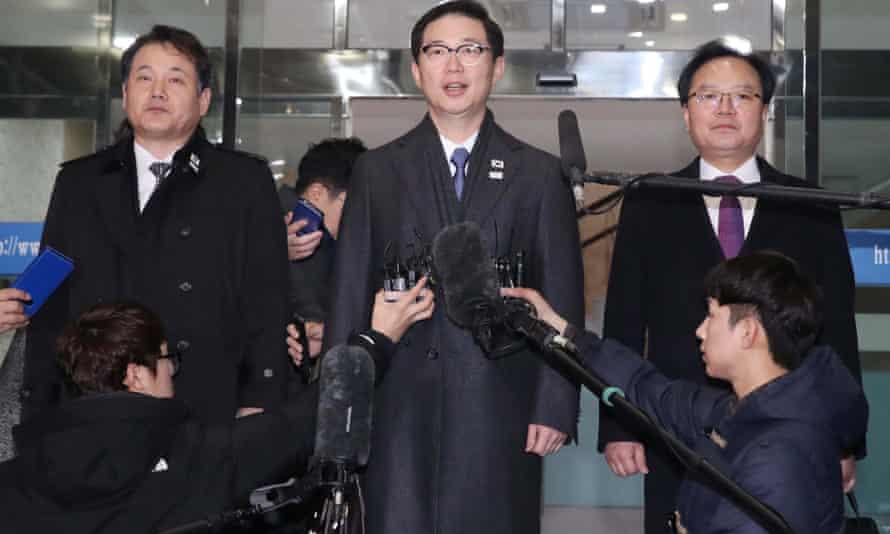 South Korean delegates in Seoul