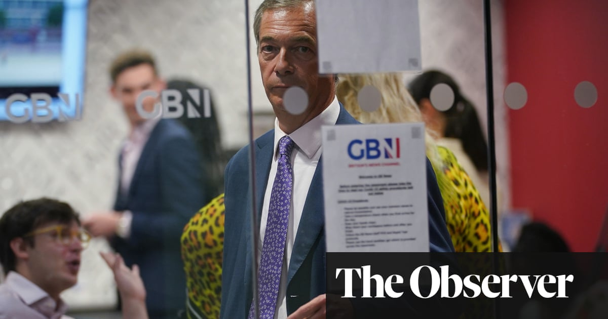 GB News turns to Nigel Farage as its saviour after ratings freefall