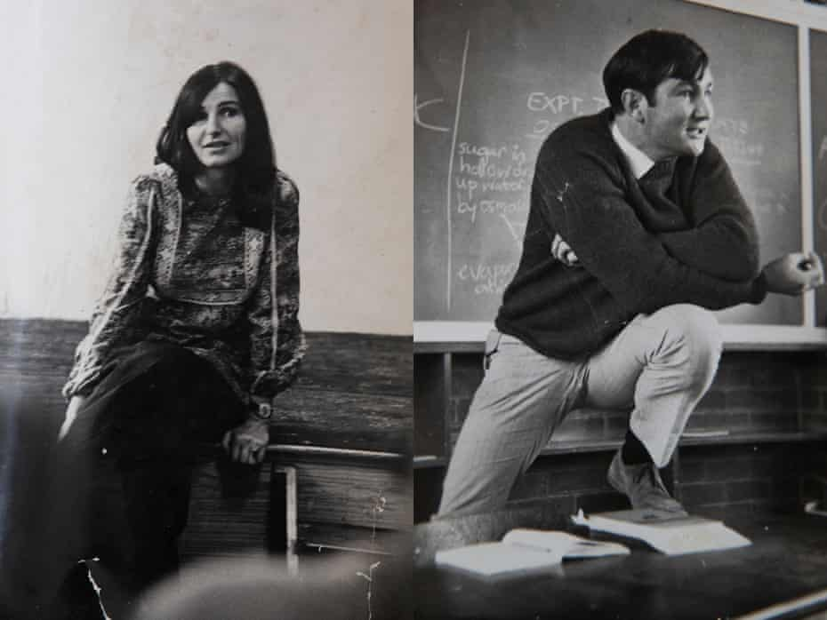 My parents were both teachers for the first part of their careers and met while teaching at a Johannesburg high school in 1968