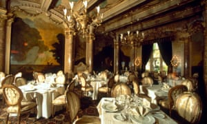 The dining room at Mar-a-Lago.