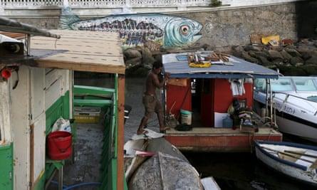 Boats on Guanabara Bay