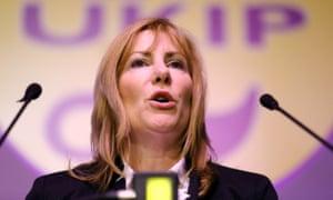 MEP Janice Atkinson: decried post-referendum grief emails as 'snowflake nonsense'.