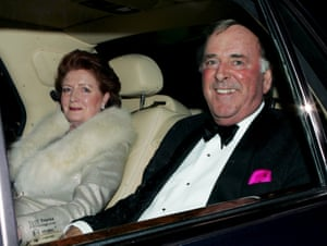 Terry Wogan and his wife Helen