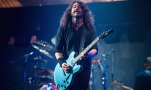 Dave Grohl of Foo Fighters.