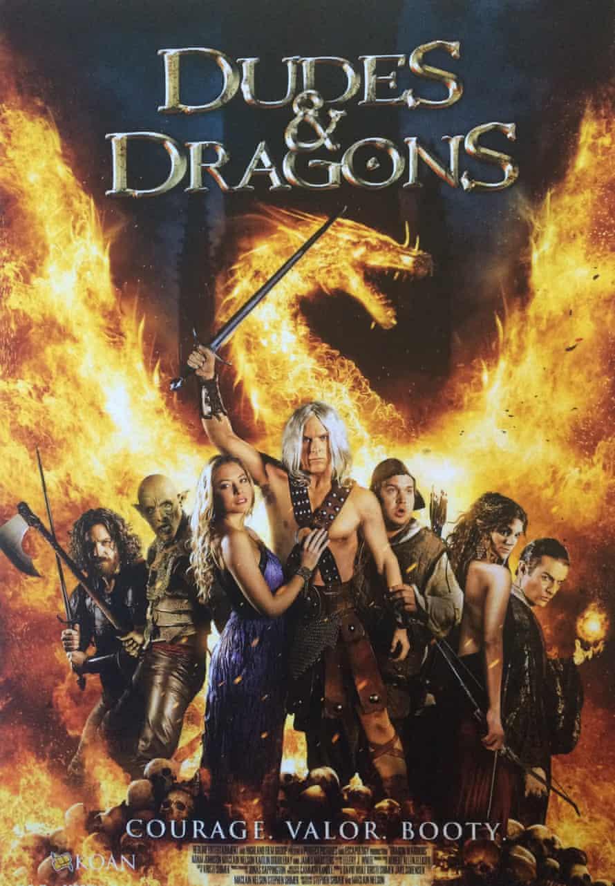 Dudes & Dragons poster