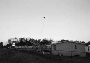 Athens, GA (balloon at dusk), 1995