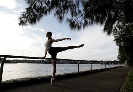 Leotards In Lockdown Ballet Dancers Find New Ways To Keep Fit But How Long Can They Hold On Ballet The Guardian