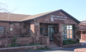Cameron Post Office in the Navajo Nation, Arizona.