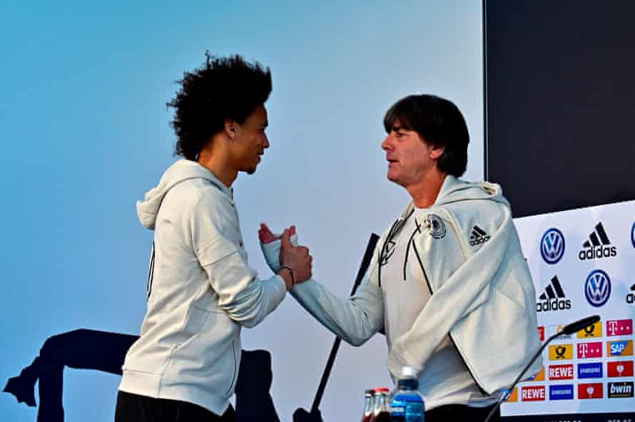'About that World Cup snub, Leroy …'