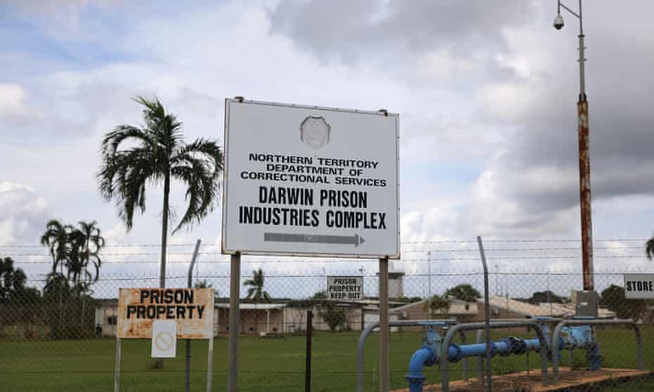 The Don Dale youth detention centre in Darwin,