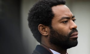 Marcella's soon-to-be-ex-husband Jason Summers (Nicholas Pinnock), who got hurled down the stairs by her a few weeks ago.