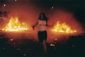'I passed through and didn't come back' … Vinca Petersen's Riot Girl from the series No System.
