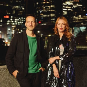 Rising's co-artistic directors Gideon Obarzanek and Hannah Fox
