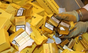 In the past, tobacco companies have been involved in smuggling their own cigarettes as a way of evading the high taxes imposed in some countries and increasing sales.
