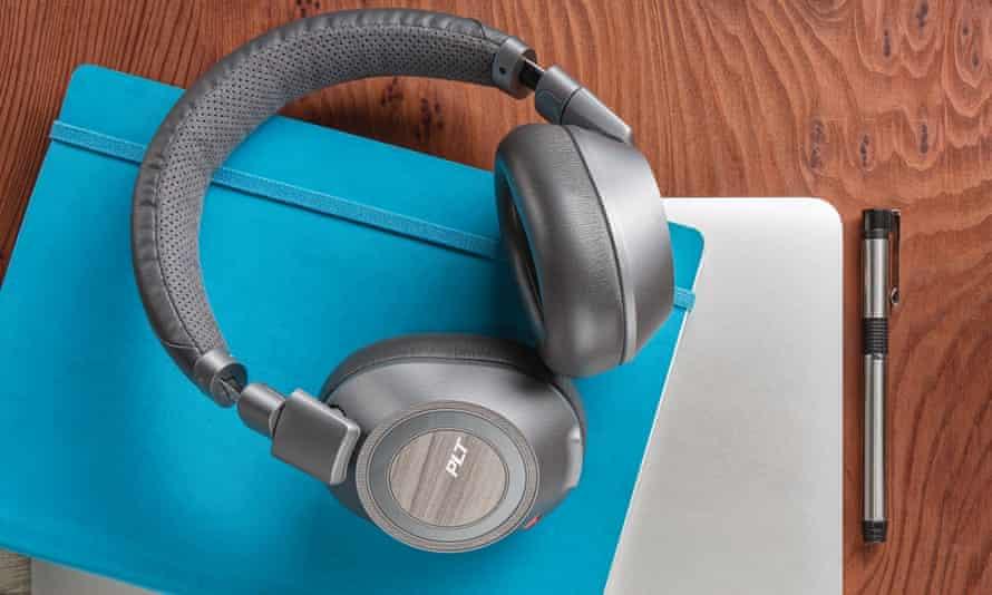 Plantronics BackBeat Pro 2 active noise cancelling wireless headphones.