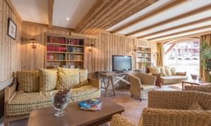 Sitting room in Résidence L'Alpaga