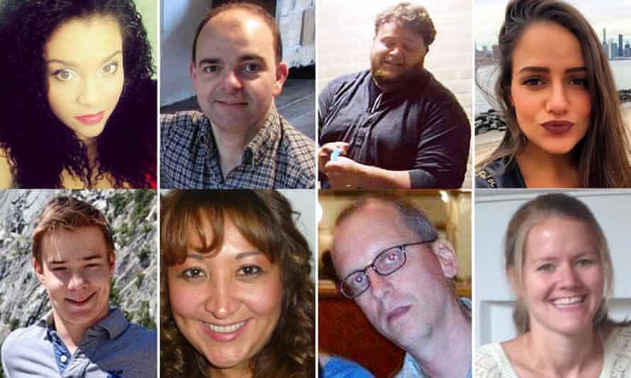 Clockwise from top left: Sabrina Fazal, Olivier Delespesse, Alexander Pinczowski, Sascha Pinczowski, Lauriane Visart, David Dixon, Adelma Tapia Ruiz, Leopold Hecht