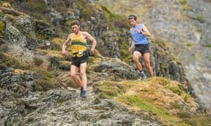 Kilian Jornet running in the Lake District