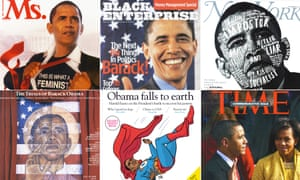 The Sidney Poitier of politics … a few of the magazines Barack Obama has graced the covers of