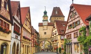 Medieval Rothenburg, Bavaria.