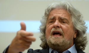 5-Star Movement party leader, Beppe Grillo