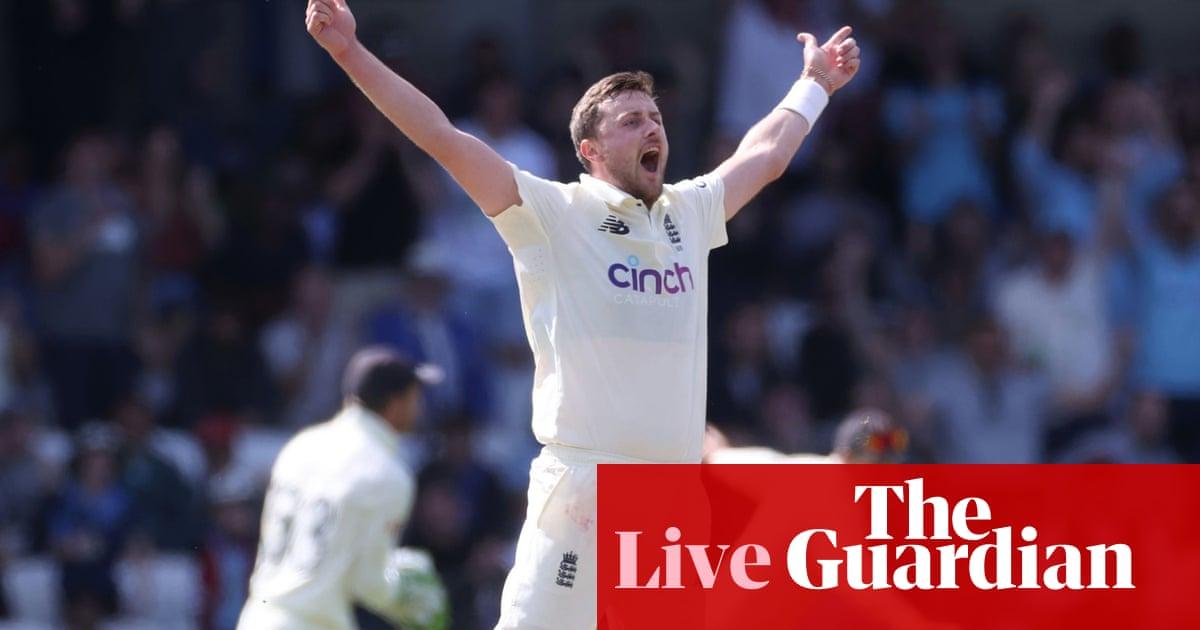 England v India: third Test, day four – live!