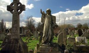 Victorian graves, Kensal Green Cemetery