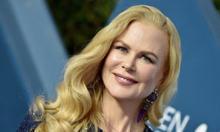 Nicole Kidman attends the 26th Annual Screen Actors Guild Awards at The Shrine Auditorium on January 19, 2020