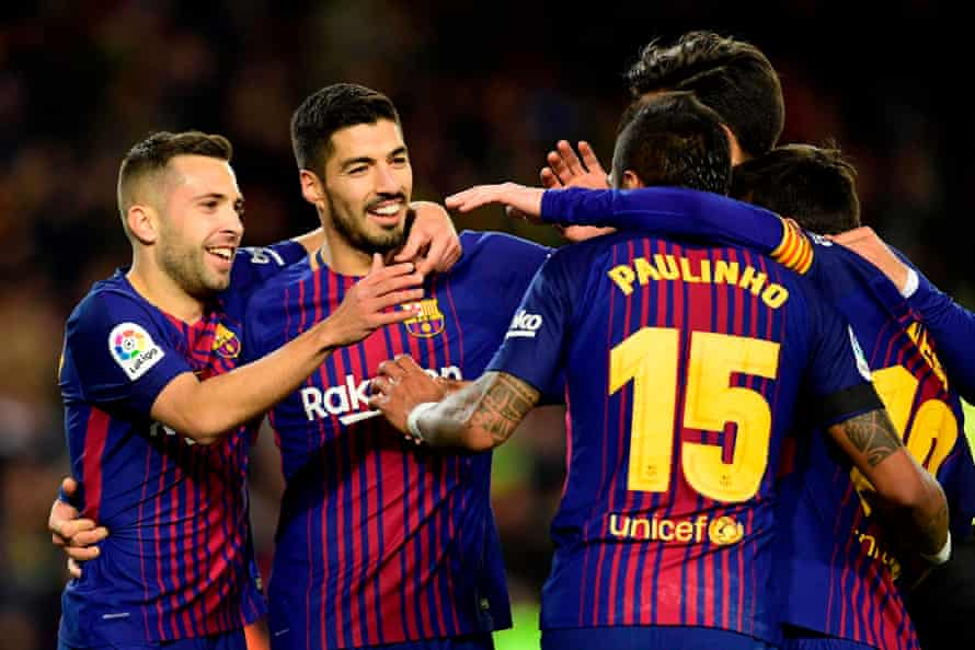 Joy for Barcelona during their dominant win over Depor.