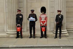 London, England Members of the Honourable Artillery Company