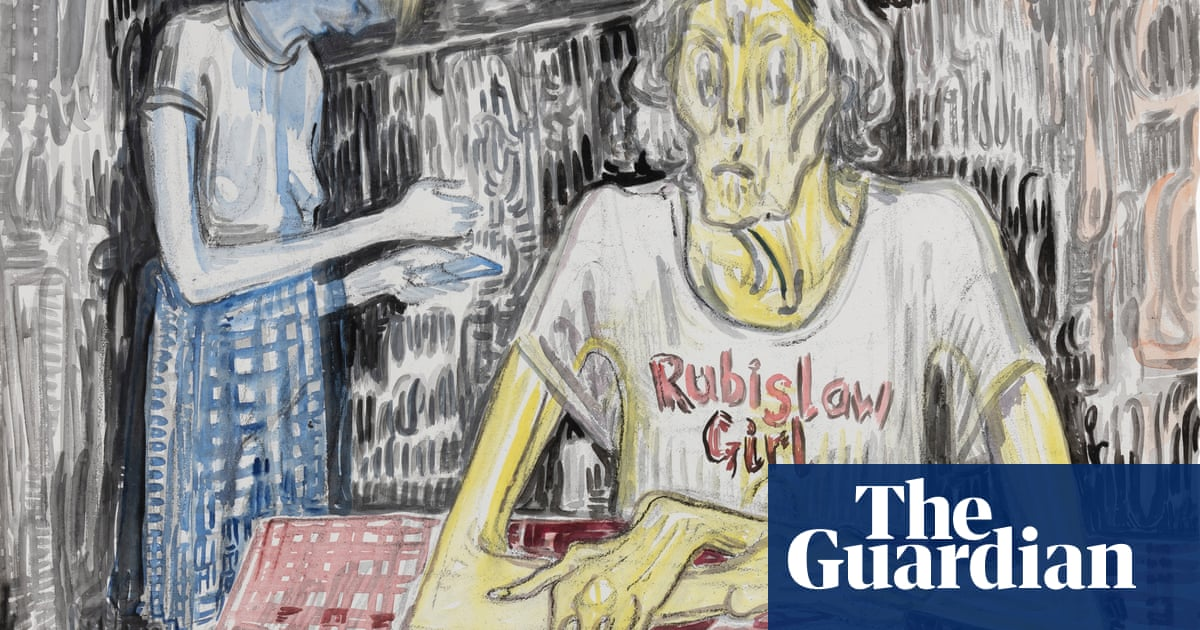 'I need a doctor!' – the filthy, furious, fun-filled art of Vanessa Baird