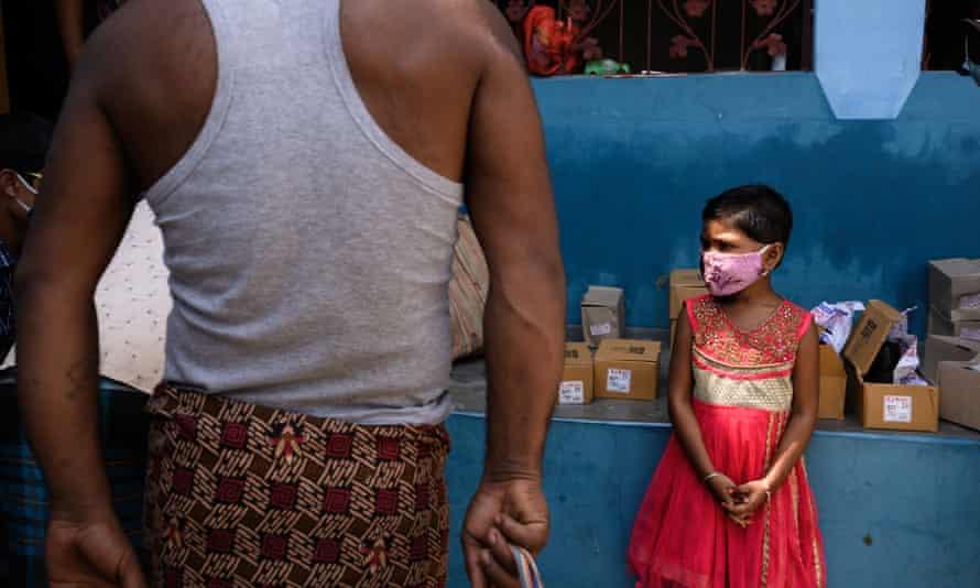 Children in India Covid
