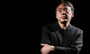 But Dave Ishiguro doesn't sound right … author Kazuo Ishiguro.