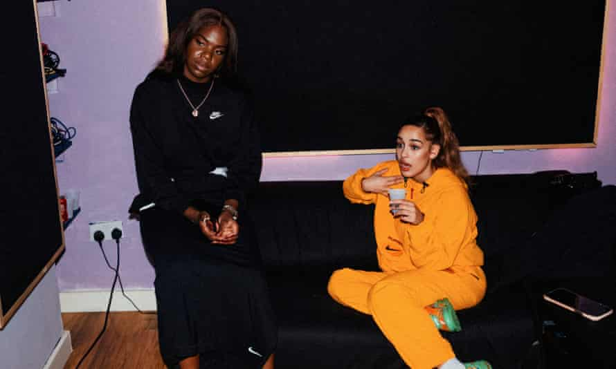 They've come sofa ... Enny and Jorja Smith.