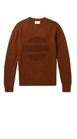 Brown jumper by Oliver Spencer from Mr Porter