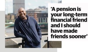 Portrait of Trevor Levy with quote: 'A pension is your long-term financial friend and I should have made friends sooner'