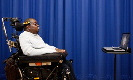 'I would rather play music than walk again' … trumpeter Clarence Adoo.