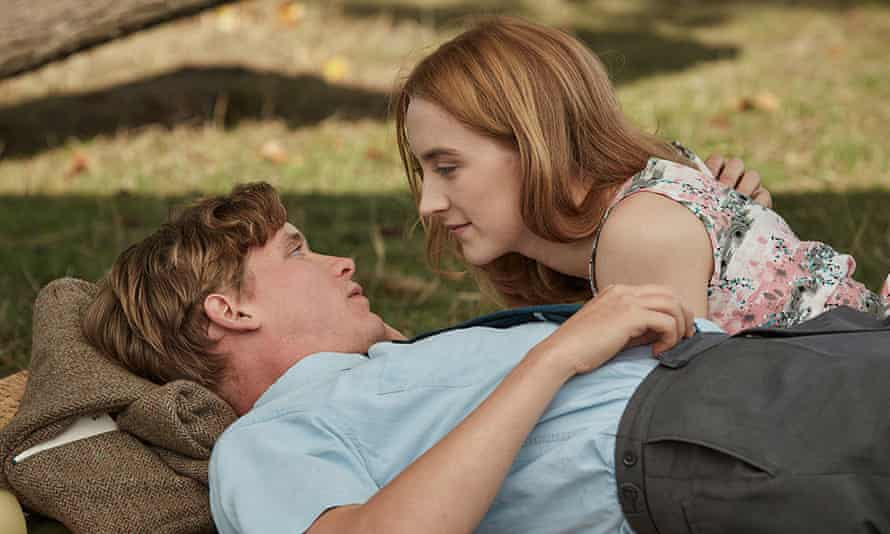 Emotional waste … Billy Howle and Saoirse Ronan in On Chesil Beach.