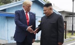 Kim Jong-un in June 2019, wearing his more traditional dark suit.