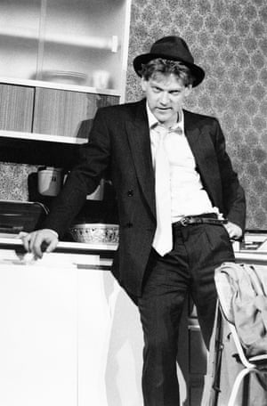 Public Enemy, 1987 Kenneth Branagh as Tommy Black, directed by Malcolm McKay, produced by the Lyric and Renaissance Theatre Company. They used the Lyric Studio to develop work, presenting lunchtime shows – this was one of them