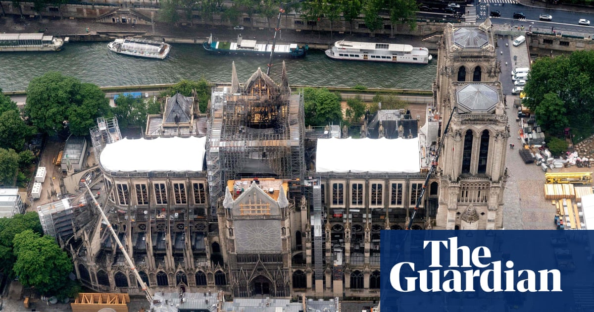 Notre Dame spire must be rebuilt exactly as it was, says chief architect