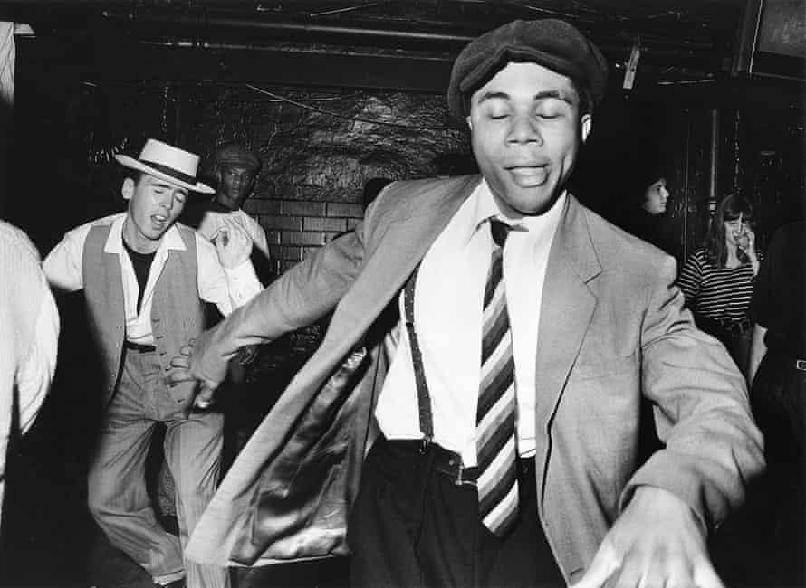 Adam Friedman's jazz dancers, Dingwalls, Camden Town, 1989.