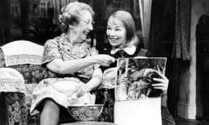 Mona Washbourne, left, and Glenda Jackson in Stevie, by Hugh Whitemore.