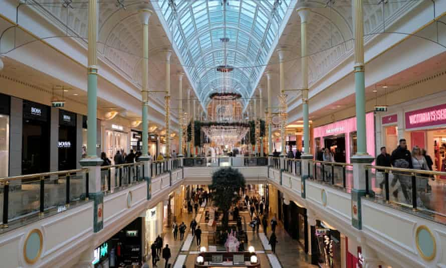 The Trafford Centre in Manchester is one of the shopping centres owned by Intu Properties.