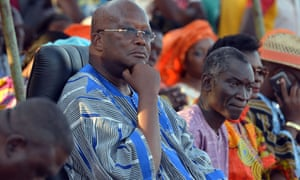 Burkina Faso presidential favourite Roch Marc Christian Kabore.