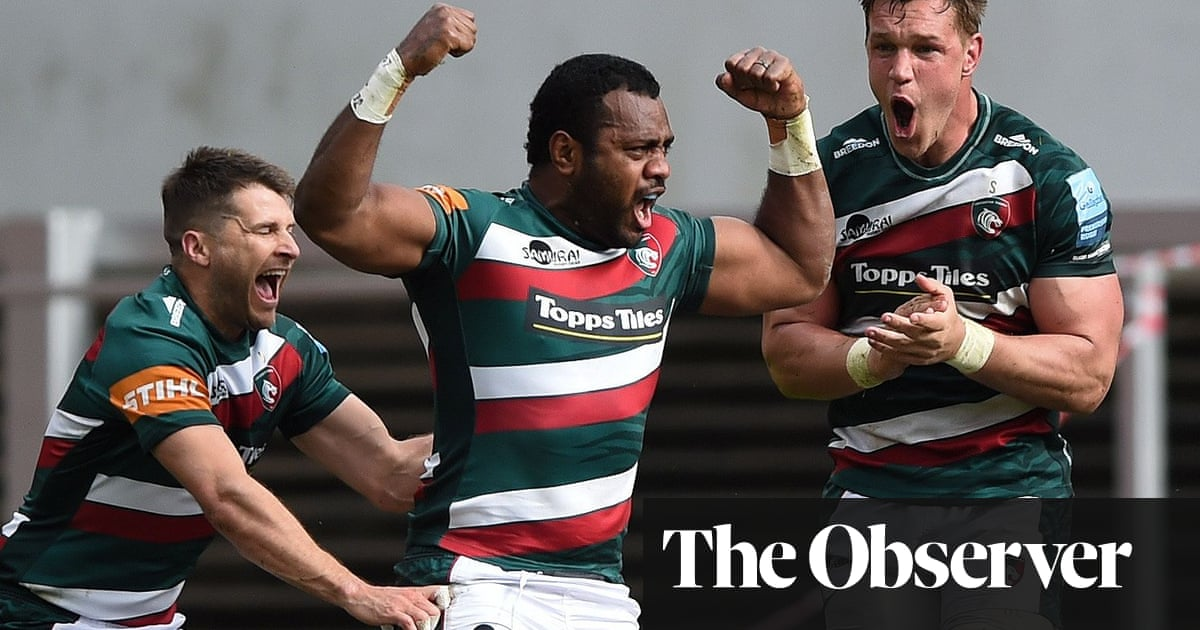 Ellis Genge doubles up as Leicester hold off another Harlequins fightback