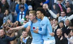Kevin De Bruyne and Leroy Sané are both up for the award.